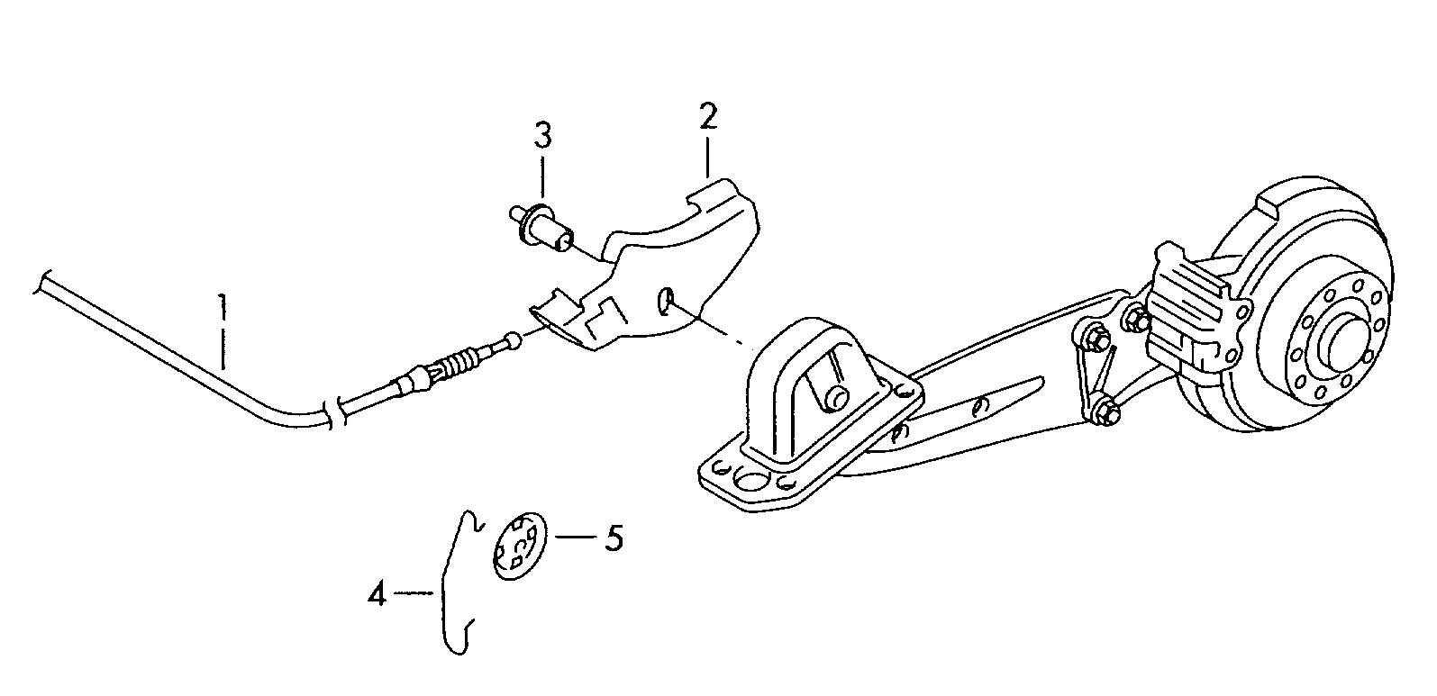 регулировка стояночного тормоза фольксваген джетта 5